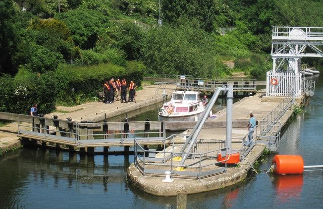 East Farleigh lock