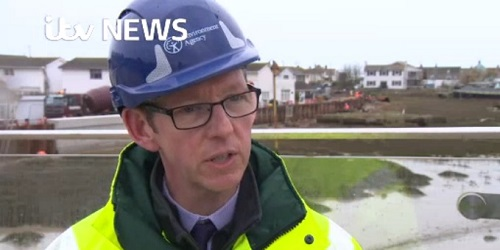Mackley Shoreham ITV report home