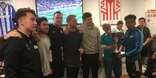 Mackley Ivan Mitchell winners home