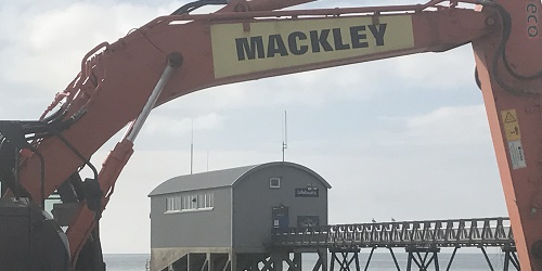 Mackley RNLI Selsey home