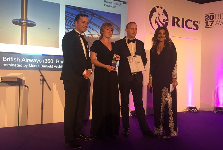 Mackley i360 RICS award