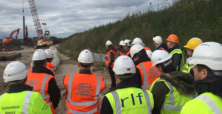 RICS visit to Shoreham main