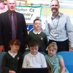 Mackley laptop donation home