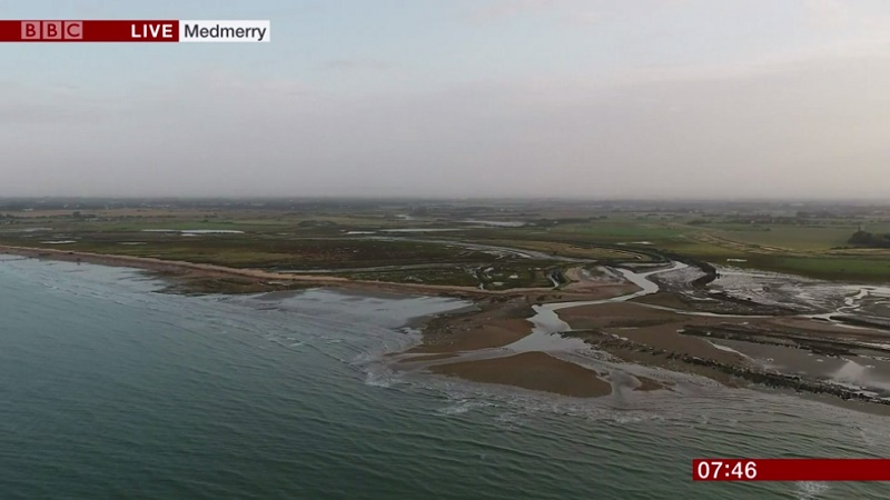 Medmerry BBC feature