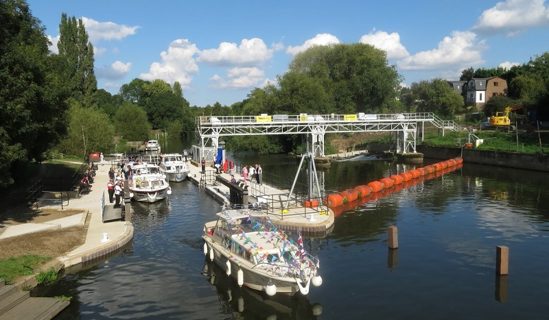 TVO East Farleigh lock