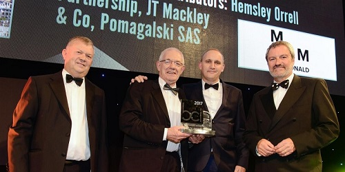 Mackley BCI award home