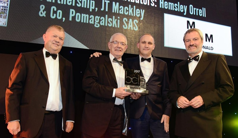 Mackley BCI award