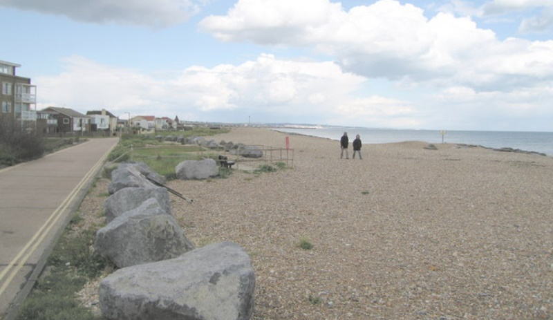 Mackley Shoreham beach clean