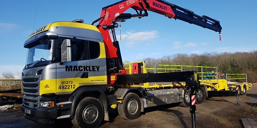 Mackley truck home