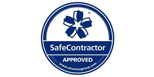Mackley SafeContractor approval logo home
