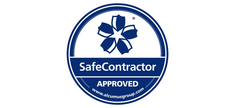 Mackley SafeContractor approval logo